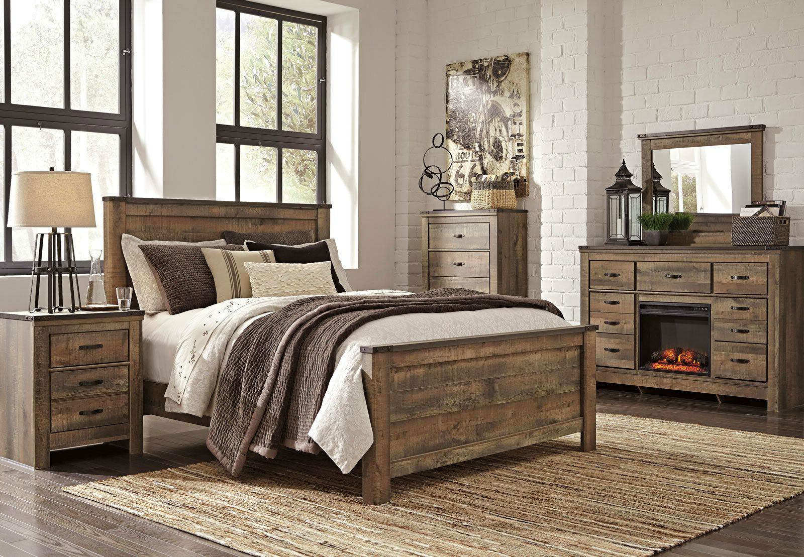 Ashley Furniture B446 Trinell - Modern Queen or King Panel B
