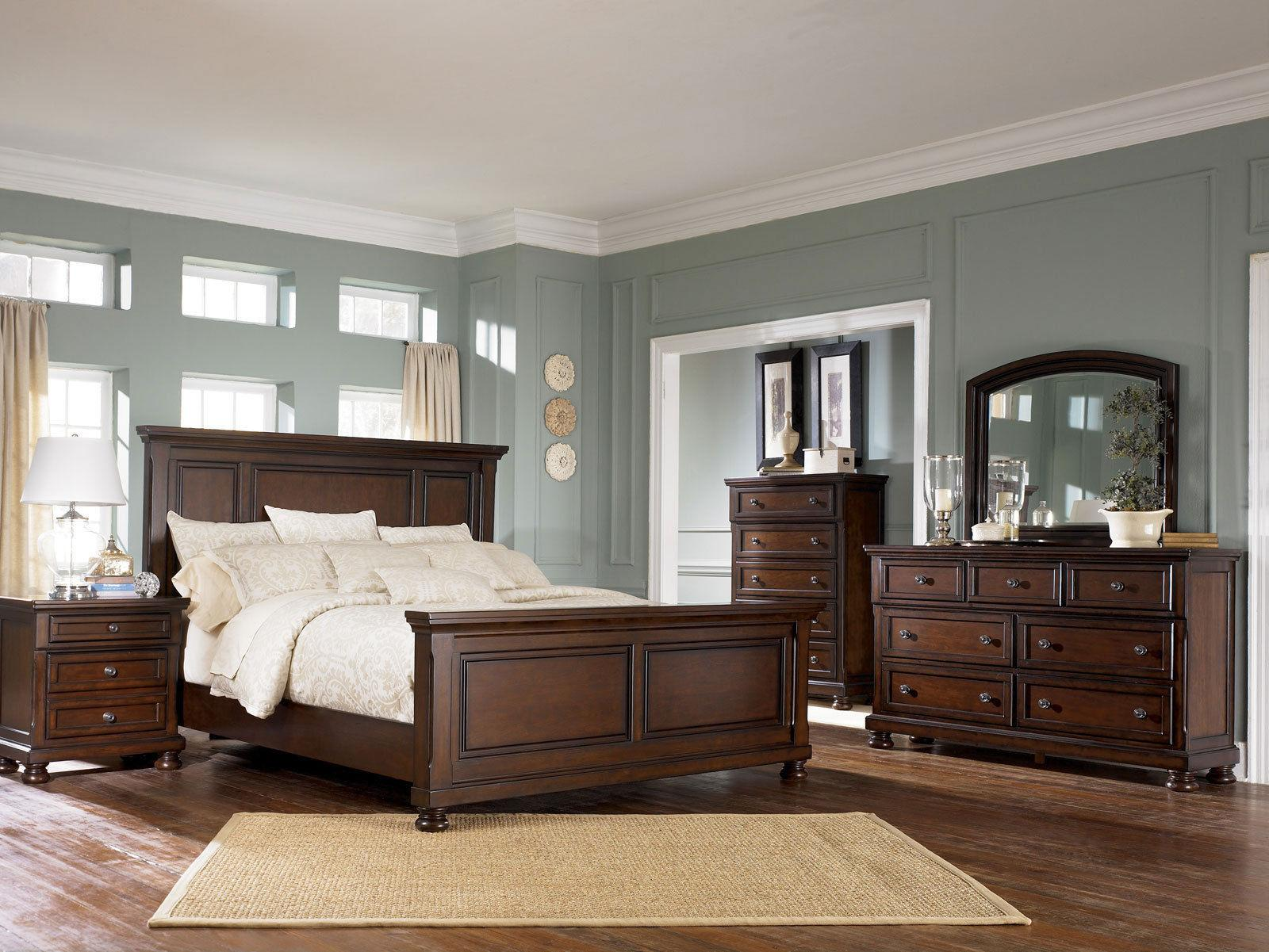 Ashley Furniture B697 Porter-Traditional Queen King Panel Be
