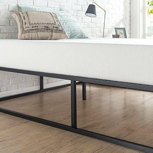 Bed Wood Support Platforma Minimal Design Low Profile Twin