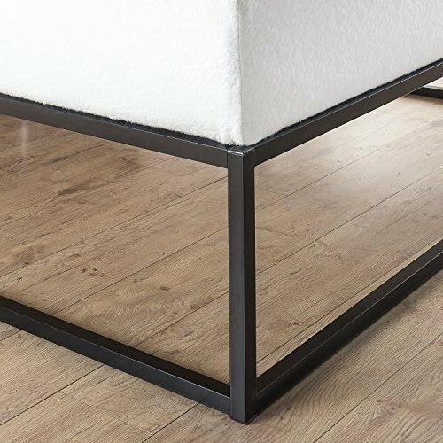 Bed Wood Support Studio Minimal Design Twin