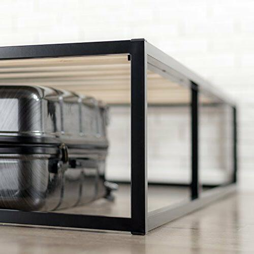 Bed Wood Platforma Minimal Low Profile Twin
