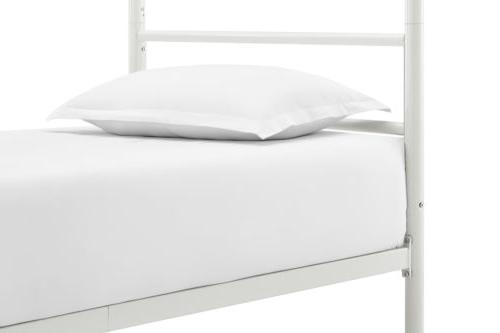 Bed Canopy Kids White New