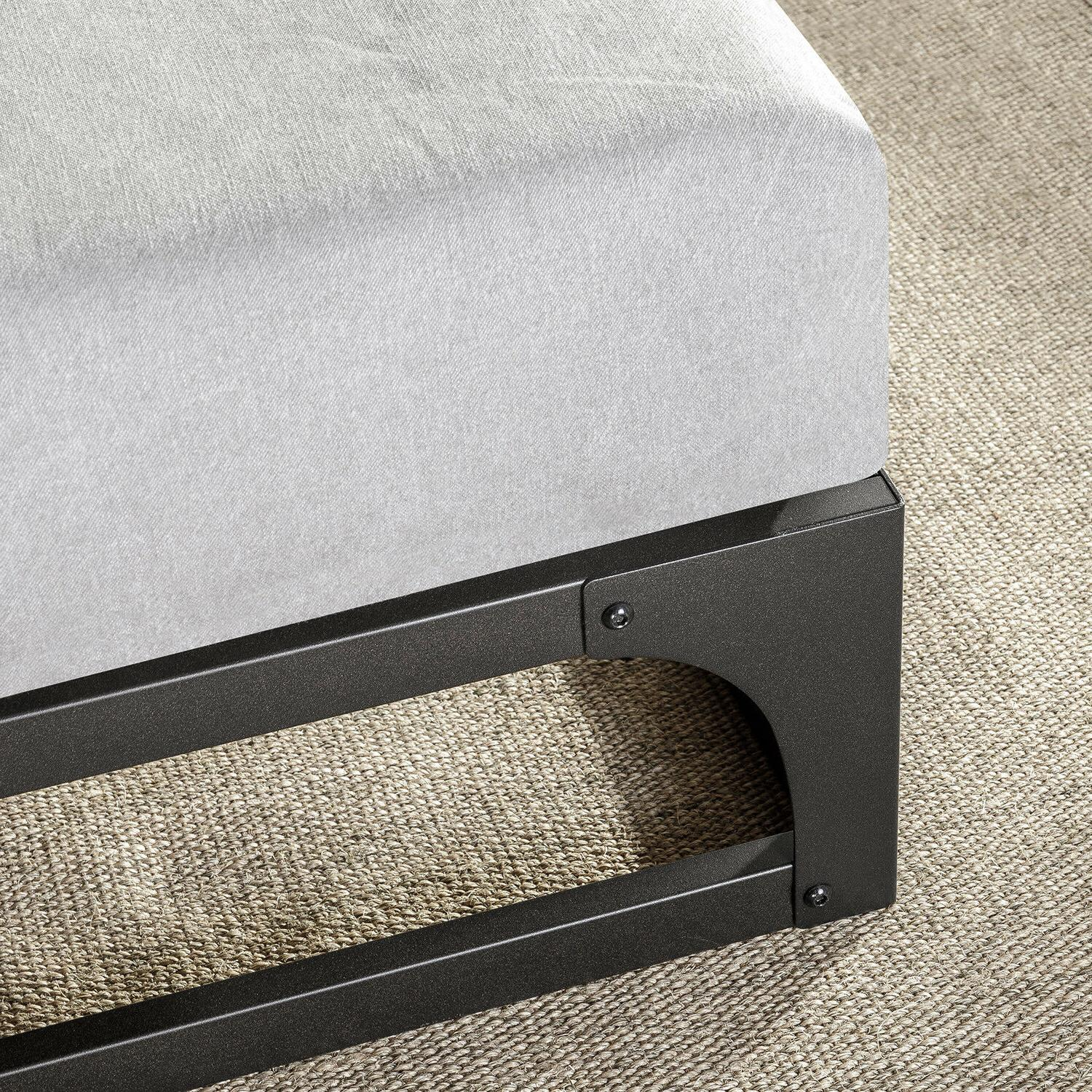 Bed 9 Metal Platform Furniture Hinge Twin New