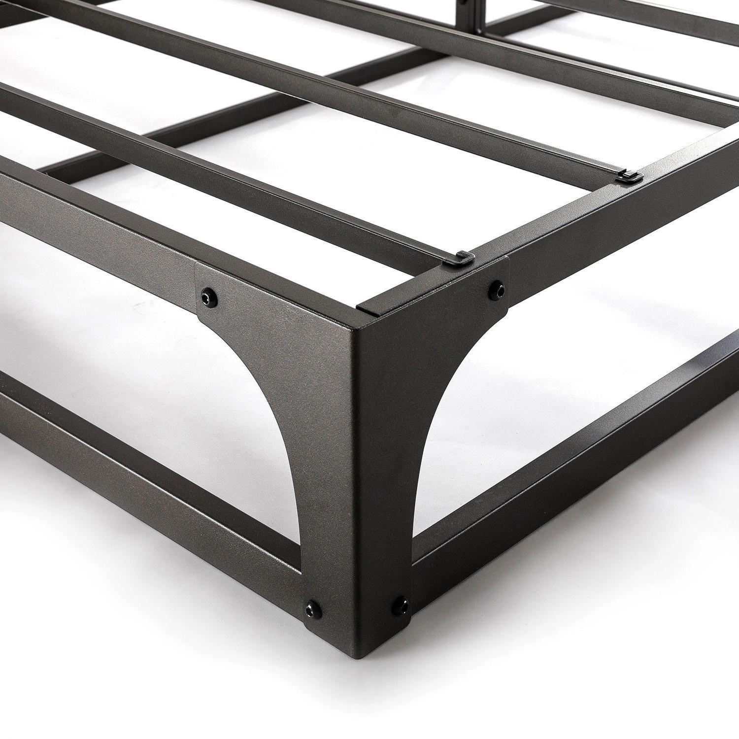 Bed Mattress 9 Metal Platform Furniture New