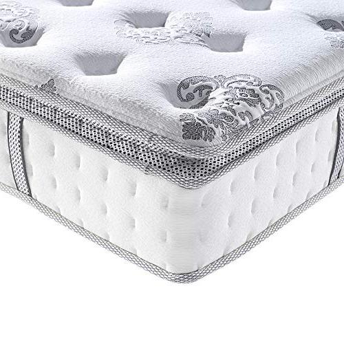 "Classic Brands Top Gel Foam Innerspring 12"" Mattress,"