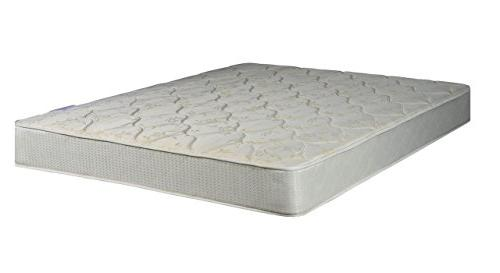 Continental Mattress Assembled Firm Orthopedic Back Support Queen Box Collection