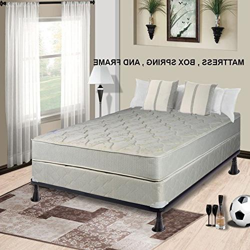 Continental Mattress 9-inch Fully Assembled Gentle Firm Orth