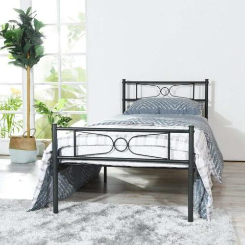 GIME Bed Frame Twin Size, Yanni LESILE Easy Set-up Premium M