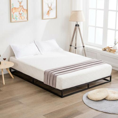 King Bed With Wood Slats Bedroom Foundation