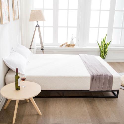 King Bed Wood Slats Foundation