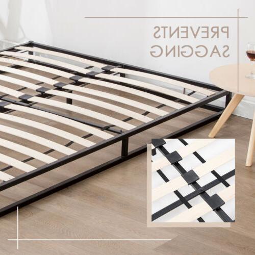 King Metal Bed Slats Foundation