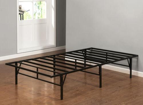 Kings Brand Furniture Platform Bed Frame Mattress Foundation