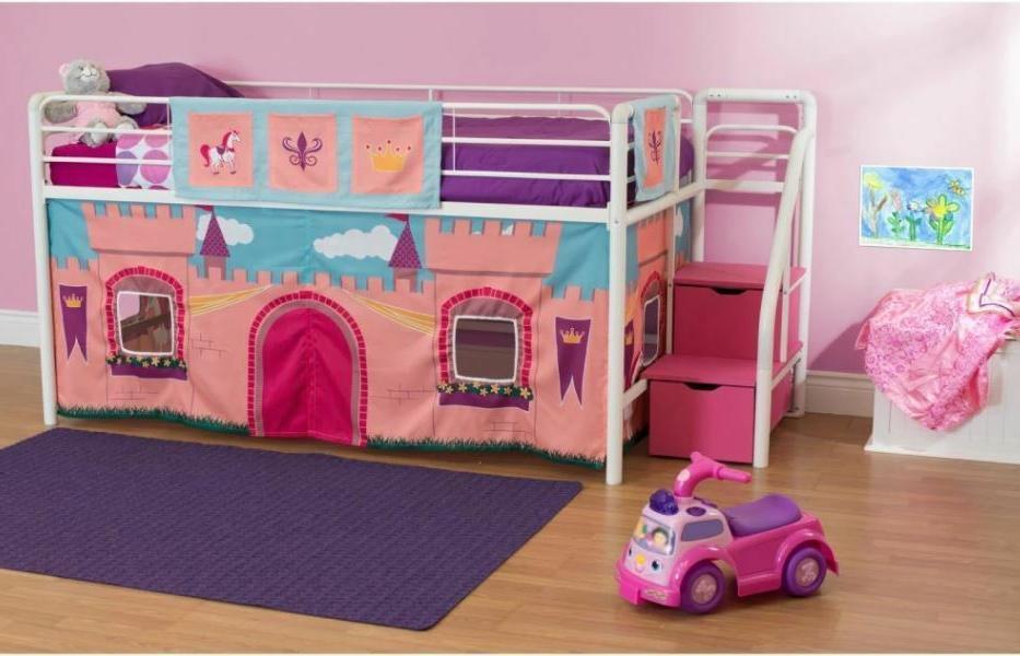 Loft Junior Low Bunk Pink Princess