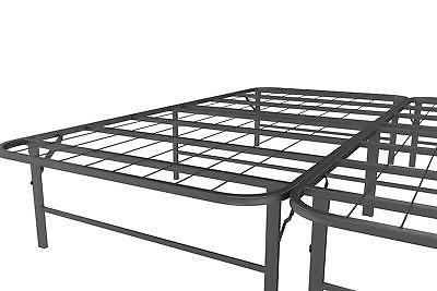 Metal Bed Frame Folding Mattress KING Clearance