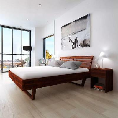 "Modern Acacia Wood King 76"" Furniture"