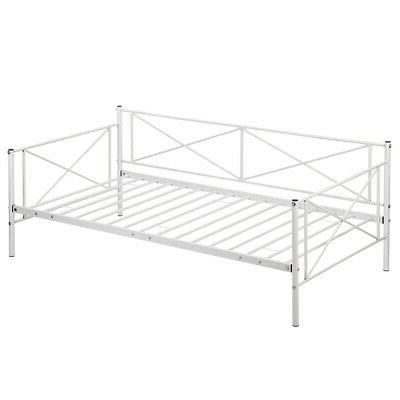 New White Day Bed Frame Frame