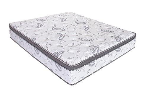 Olee Sleep 12 inch Hybrid Euro Top Pocket Spring Mattress
