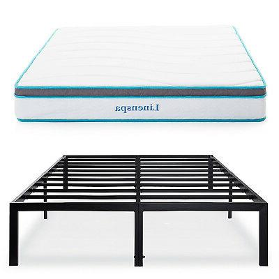 Olee Sleep 14 Inch Heavy Duty Steel Slat / Non-slip Support