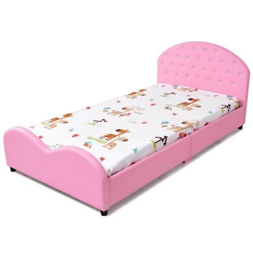 Pink Upholstered Girls Furniture