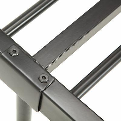 Queen Size Metal Frame Platform Headboards Leg Bedroom Furniture