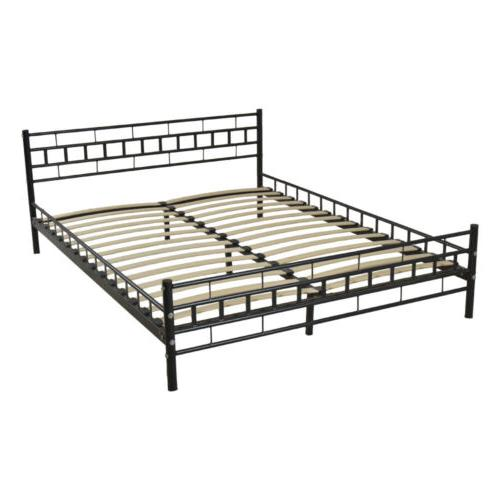 Queen Frame Headboard Footboard Furniture Black
