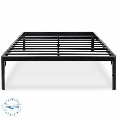 Sleeplace 18inch Round Edge Sturdy Steel Slat Bed Frame SP-3