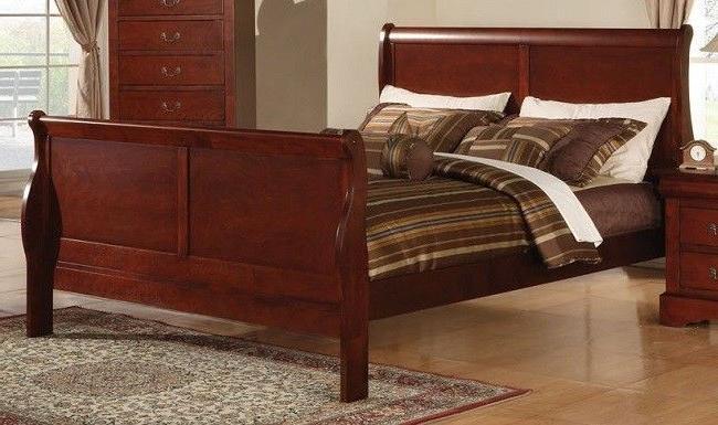 Sleigh Bed Footboard Bedroom