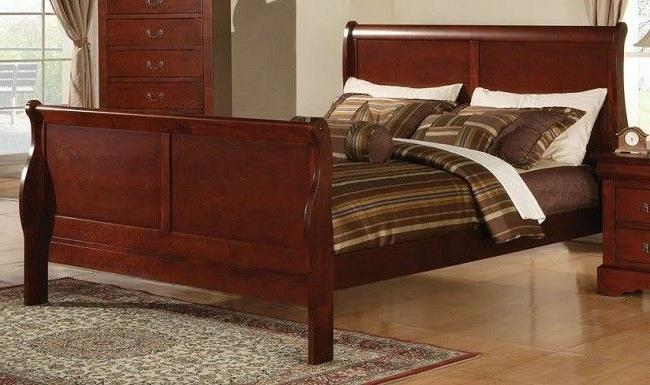 Sleigh Bed Frame California King Cal Beds Headboard Footboar