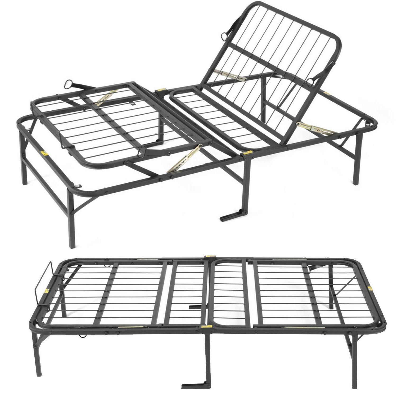 TWIN Size Adjustable Frame Furniture Metal Foundation