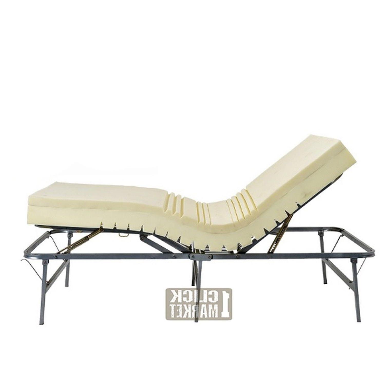 TWIN Size Adjustable Frame Head Furniture Metal Foundation Base
