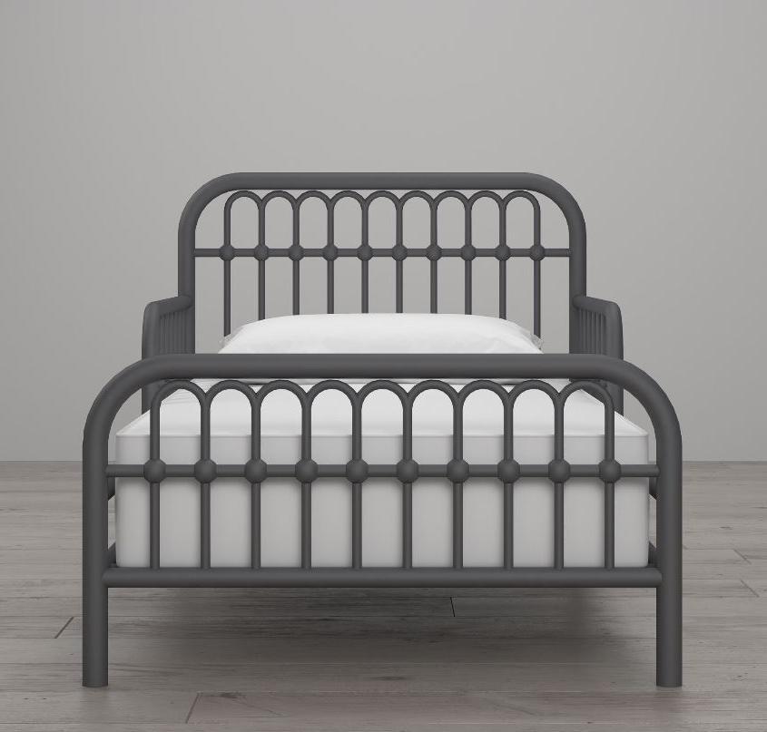 Toddler Bed Base Vintage Kids Gray