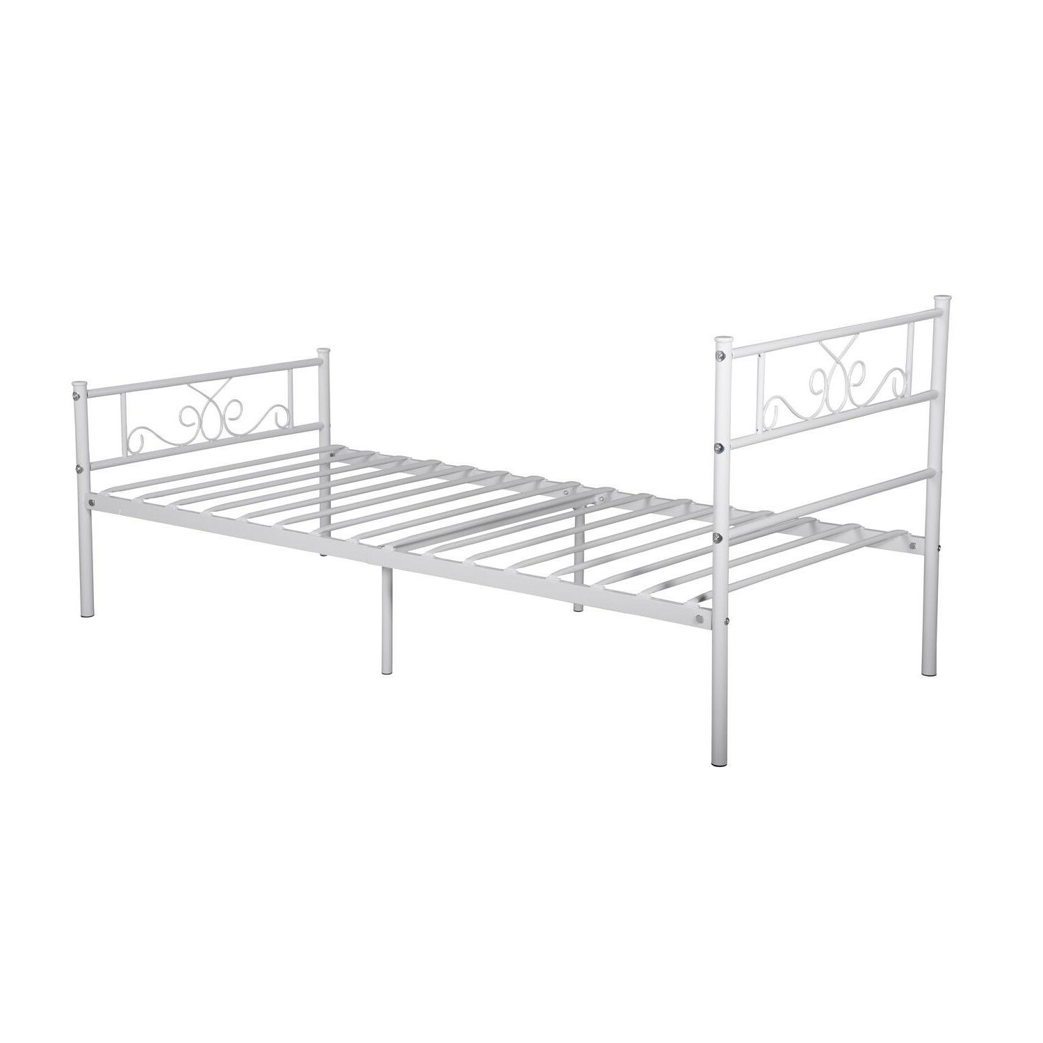 Twin Frame Mattress Headboard