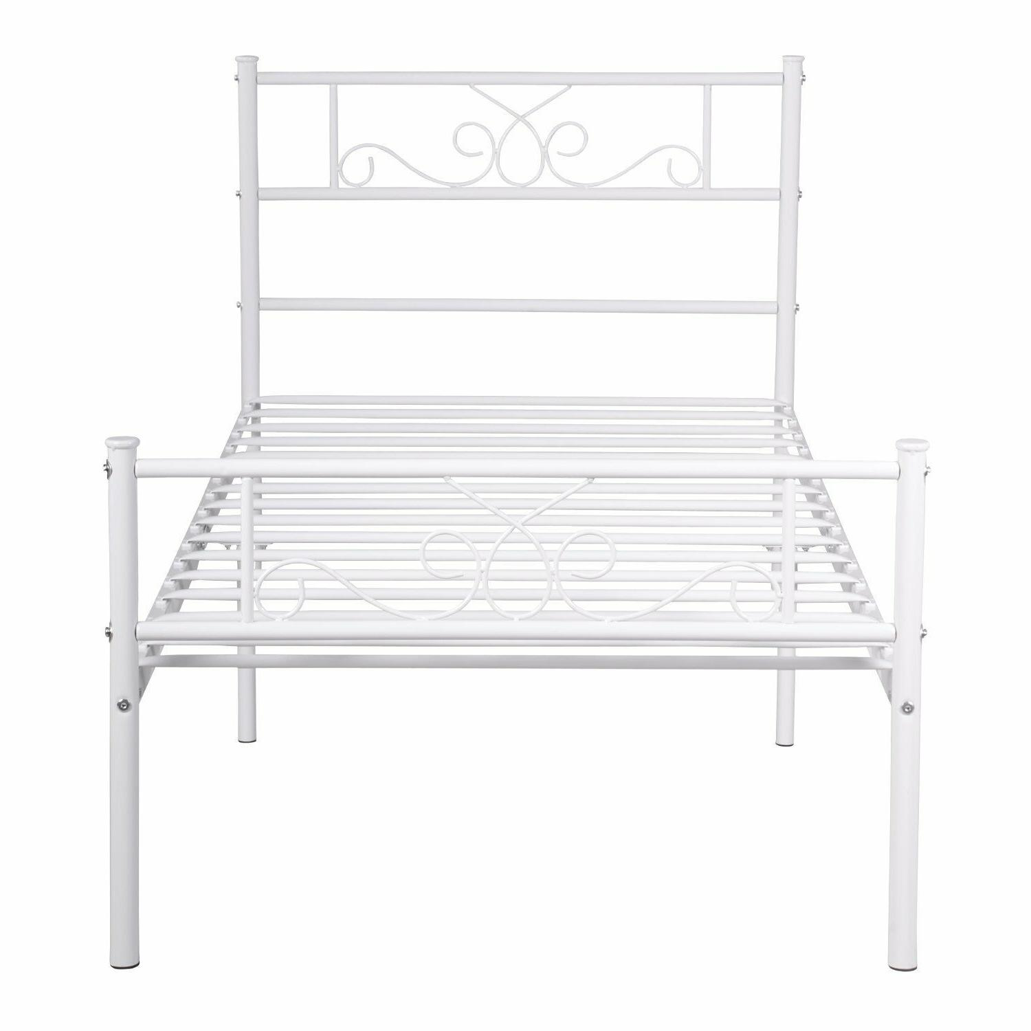 Twin Size Metal Frame Mattress