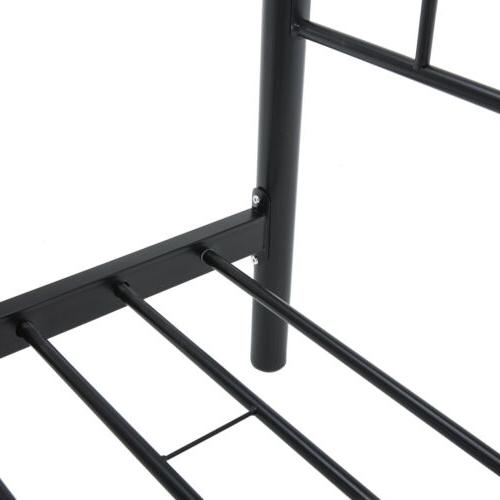 Twin Size Heavy Duty Metal Bed Headboard