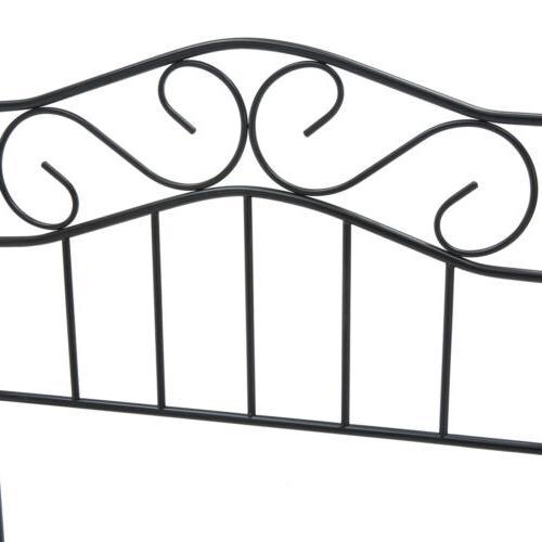 Twin Size Metal Bed Headboard