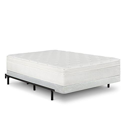 Zinus Armita 5 Low Box Spring / / Steel / Easy Assembly Required, Queen