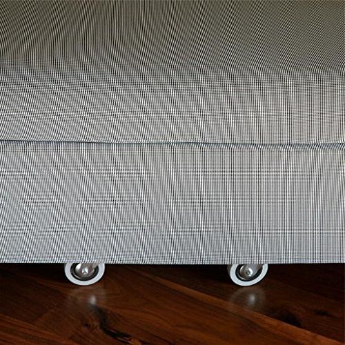 Zinus Memory Resort Folding Guest with Wheels, Standard