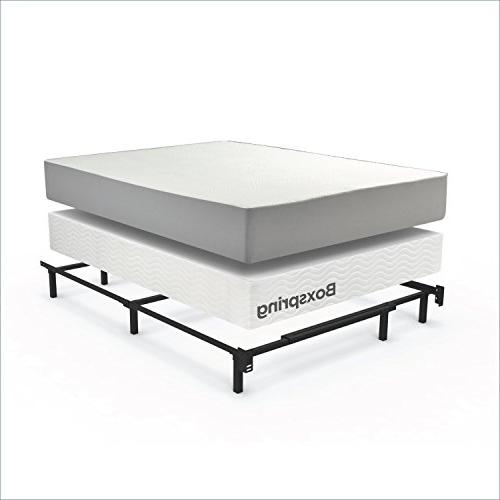 Zinus Michelle Compack Support for Box Spring Mattress Set, Queen