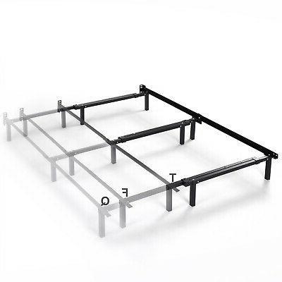 Adjustable Frame Full Size Box Mattress Foundation