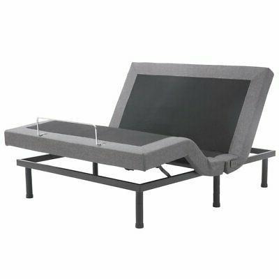 Electric Bed Frame Power Adjustable Base Massage King Zero G