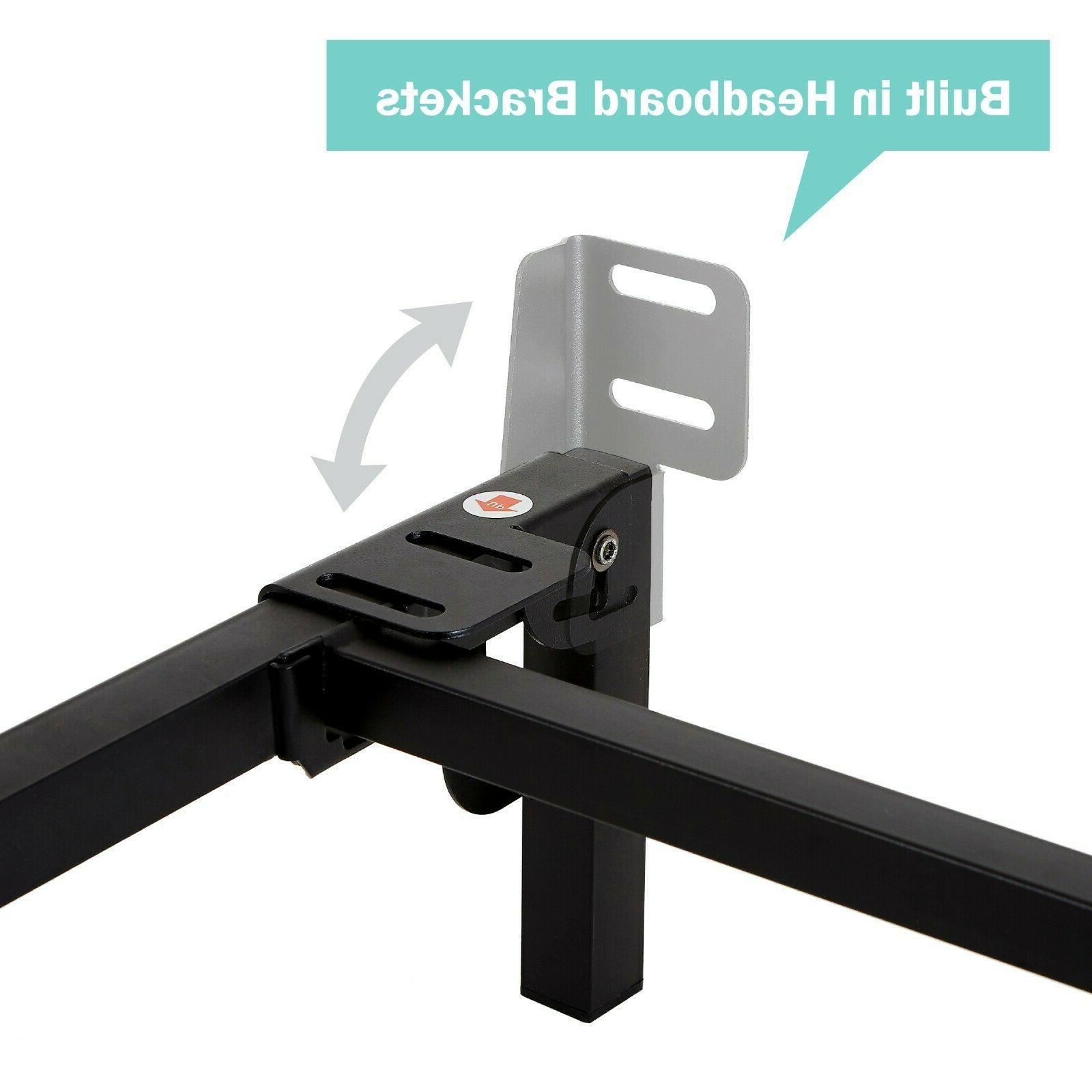 Adjustable Metal Frame Rails For Queen Box
