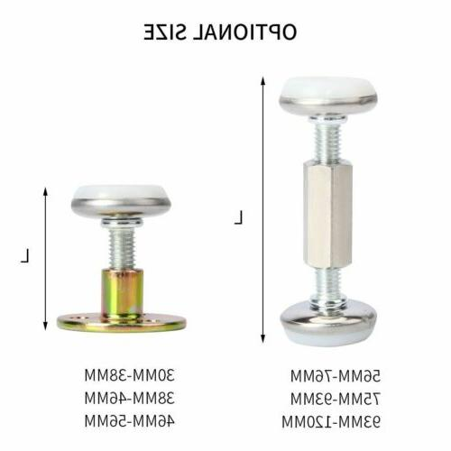 1/2/3X Adjustable Threaded Frame Support for