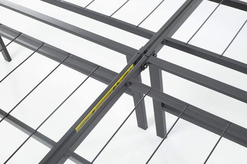 "AmazonBasics Foldable, 14"" Metal Platform Frame Tool-Free Assembly,"