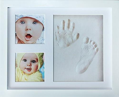 baby handprint kit footprint photo