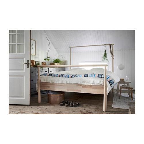 Ikea frame, birch, Leirsund, size 14204.82929.3410