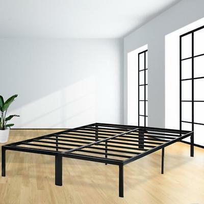 bed frame platform bed frame full metal
