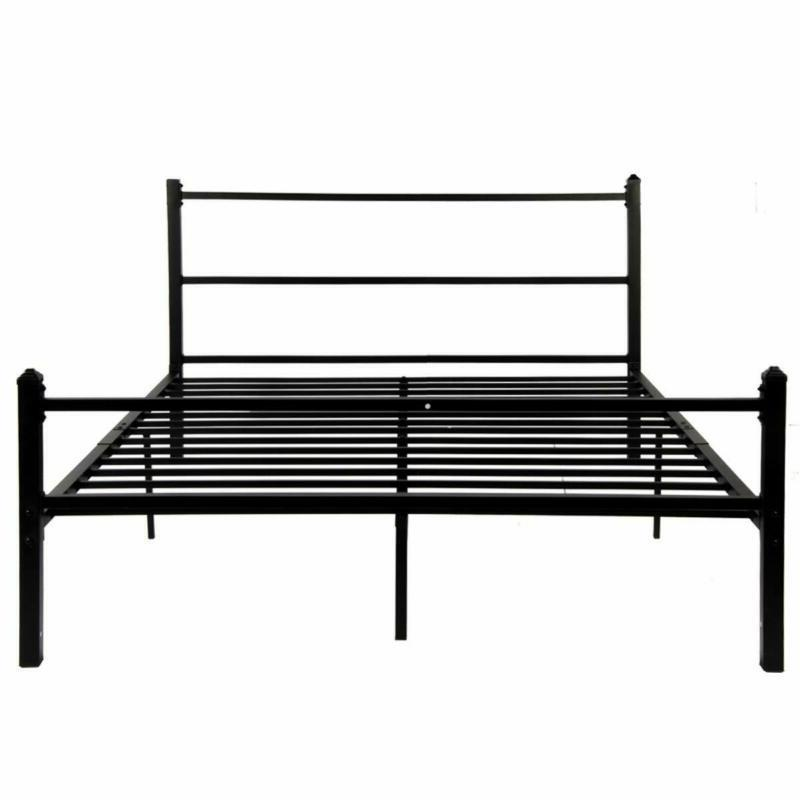 Greenforest Bed Frame Queen Size No Squeaky Metal Platform B
