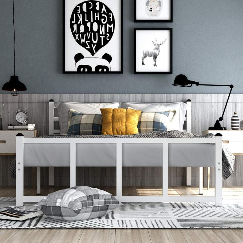 Greenforest Bed Frame Queen With Headboard Footboard Metal P