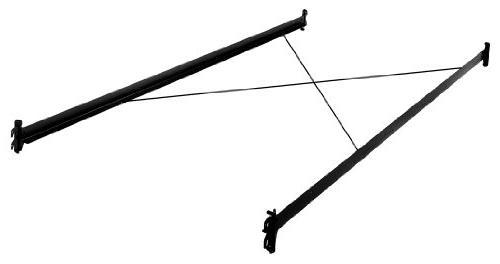 black bed frame side rails
