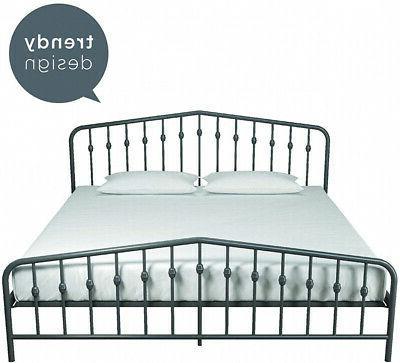Novogratz Bushwick Metal Modern Design, - Grey